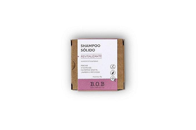 Shampoo Sólido Revitalizante B.O.B 80g