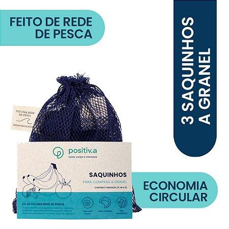 Trio Saquinhos Granel FUI UMA REDE DE PESCA Nara Guichon