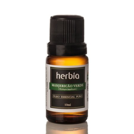 Óleo Essencial Manjericão Verde Certificado IBD Herbia 10ml
