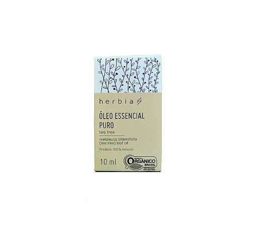 Óleo Essencial Orgânico Tea Tree Certificado IBD Herbia 10ml