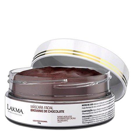 Máscara Facial Brownie de Chocolate 150g Lakma