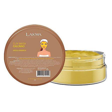 Máscara Argila Amarela Calcário Clay Mask 150g Lakma