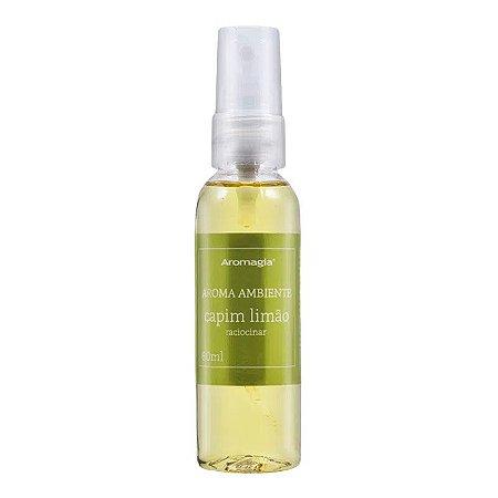 Spray de Ambiente Aromagia Capim Limão 60ml WNF