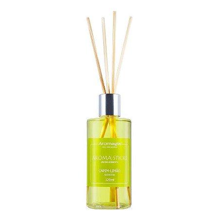 Difusor Aroma Sticks Aromagia Capim Limão 120ml WNF