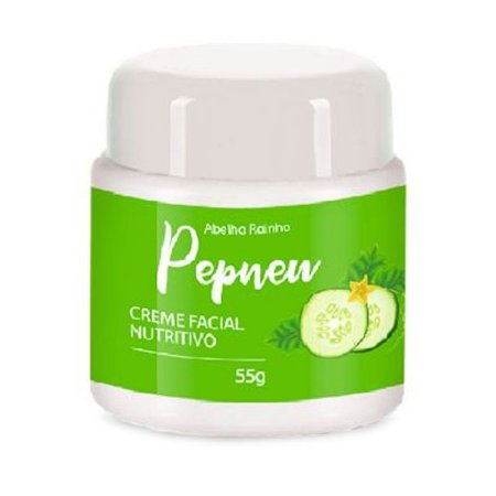 Pepnew Creme Facial Nutritivo 55g Abelha Rainha