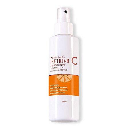 Renovil C Fluido Facial Vitamina C+E 140ml Abelha Rainha