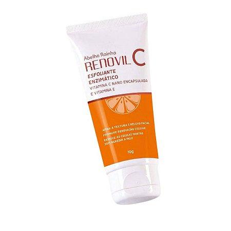 Renovil C Esfoliante Enzimático Vitamina C+E Abelha Rainha 70g