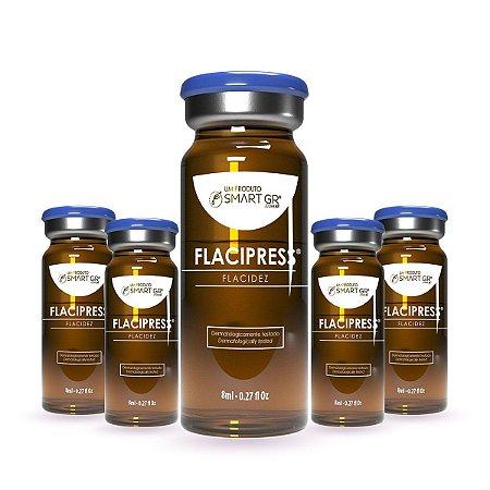 FLACIPRESS Flacidez Cutânea 5 Frascos de 8 ml Smart GR