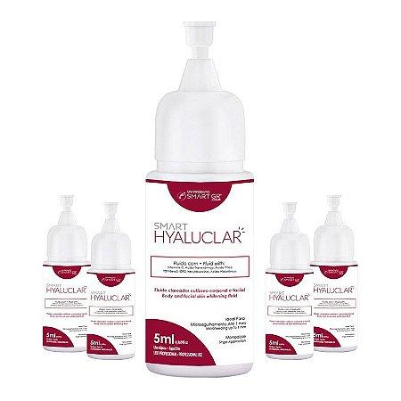 Kit Smart Hyaluclar Clareador 5 Monodoses de 5ml Smart GR