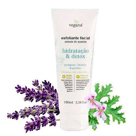 Esfoliante Facial Hidratação & Detox 100ml Vegana WNF