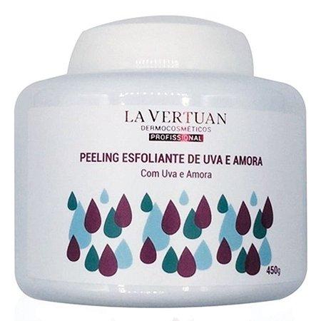 Peeling Esfoliante de Uva e Amora 450g La Vertuan