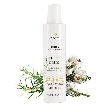 Shampoo Couro Detox 200ml WNF