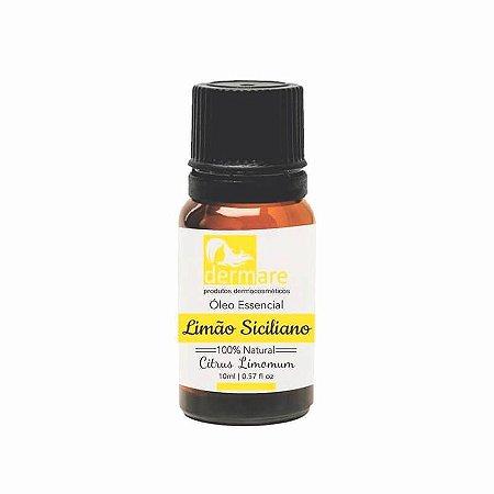 Óleo Essencial 100% Natural Limão Siciliano 10ml Dermare