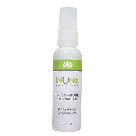 Higienizador 100% Natural Imuno Aromatherapy 60ml WNF