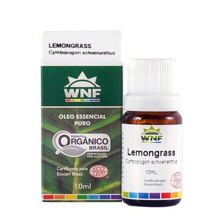 Óleo Essencial De Lemongrass 10ml WNF