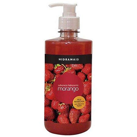 Sabonete Hidratante Morango Hidramais 500ml