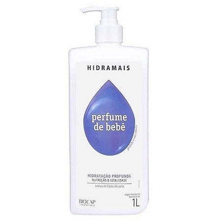 Loção Corporal Hidramais Perfume De Bebê 1L