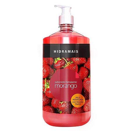 Sabonete Hidratante Morango 1,2L Hidramais