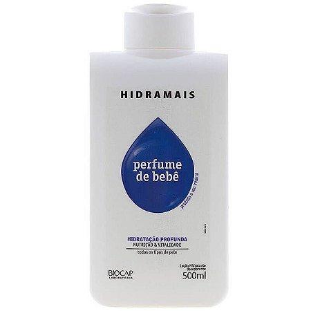 Loção Corporal Hidramais Perfume De Bebê 500ml