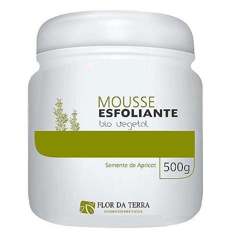 Mousse Esfoliante Bio Vegetal 500g Flor Da Terra
