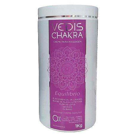 Creme Para Massagem Chakra Equilíbrio Vedis 1KG