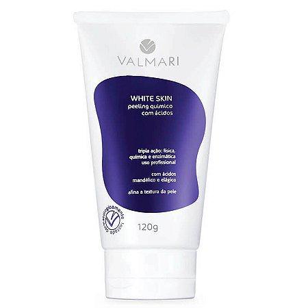 Peeling Químico Com Ácidos 120g White Skin Valmari