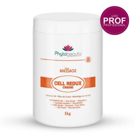 Creme de Massagem Cell Redux Corporal Phytobeauty 1kg