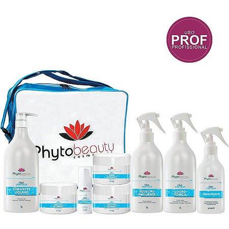 Kit Limpeza de Pele Profissional Phytobeauty