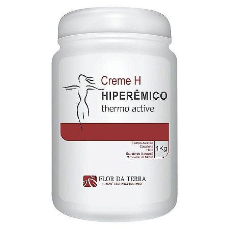 Creme H Hiperêmico Thermo Active 1KG Flor Da Terra
