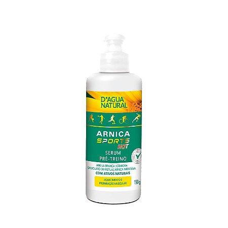 Serum Pré-Treino Arnica Sports HOT D'Água Natural 150g