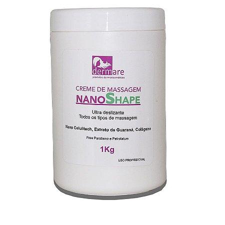 NanoShape Dermare Creme de Massagem Ultra Deslizante 1Kg