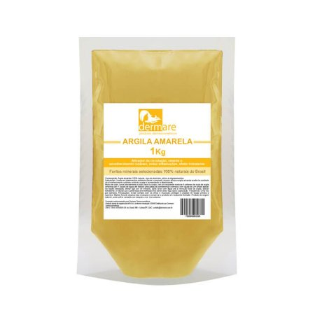 Argila Amarela Anti Idade Dermare 1kg