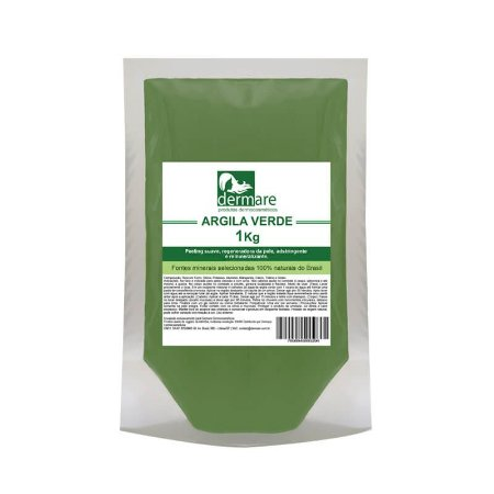 Argila Verde Dermare 1kg
