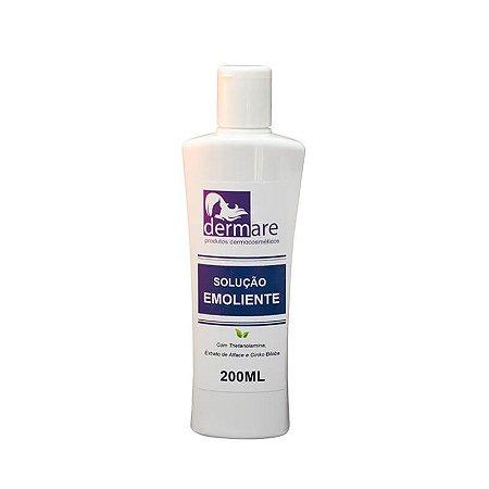 Solução Emoliente com Trietanolamina Dermare 200ml