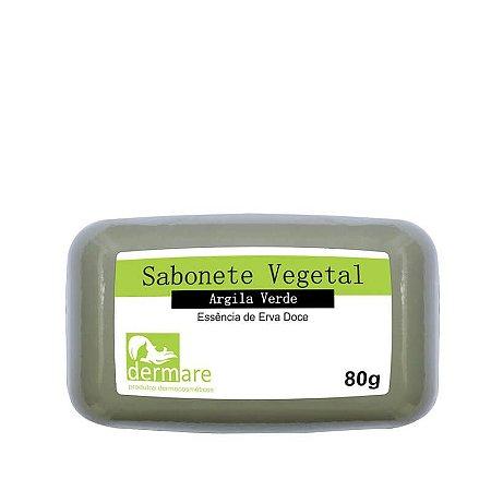 Sabonete Facial de Argila Verde Dermare 80g