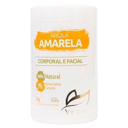 Argila Amarela Facial Vedis 1kg