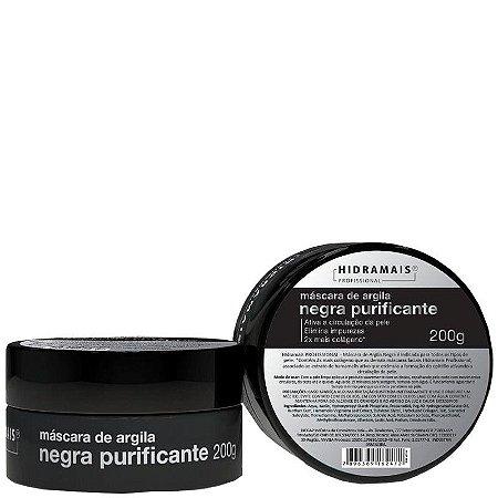 Mascara de Argila Negra Purificante Hidramais 200g