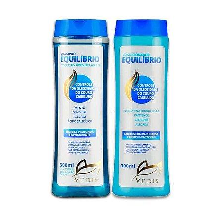 Combo Shampoo e Condicionador Equilíbrio Vedis