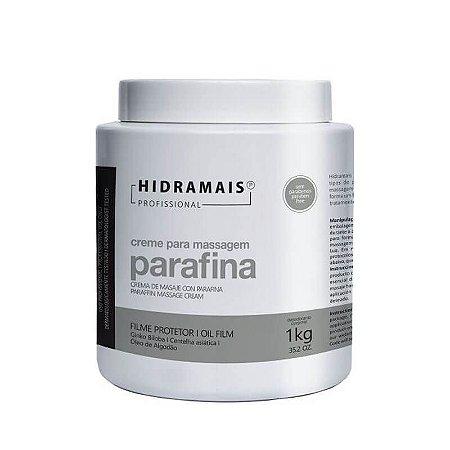 Creme para Massagem Parafina Protetora Hidramais 1kg