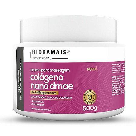 Creme Colágeno Nano Dmae 500g Hidramais