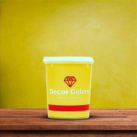 Cimento Diamantado Aveludado Amarelo 1,6 kg - Decor Colors