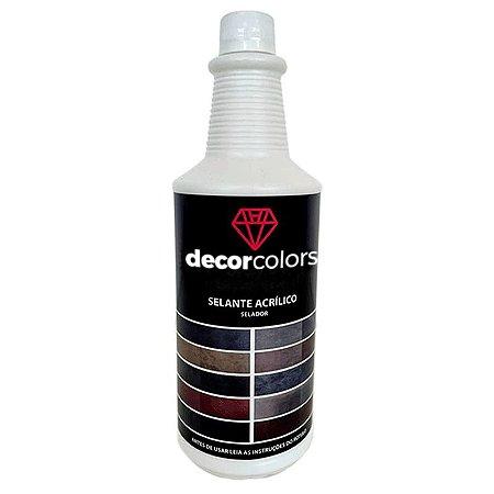 Selante Para Cimento Queimado 1L - Decor Colors