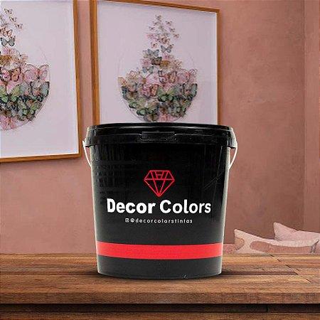 Cimento Queimado Rústico Rose Gold 5 kg - Decor Colors