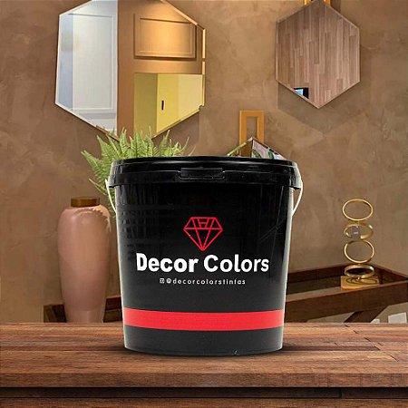 Cimento Queimado Rústico Mousse De Café 5 kg - Decor Colors