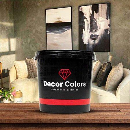 Cimento Queimado Rústico Cinza Escuro 5 kg - Decor Colors