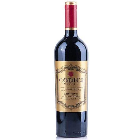 Vinho Codici Primitivo di Manduria