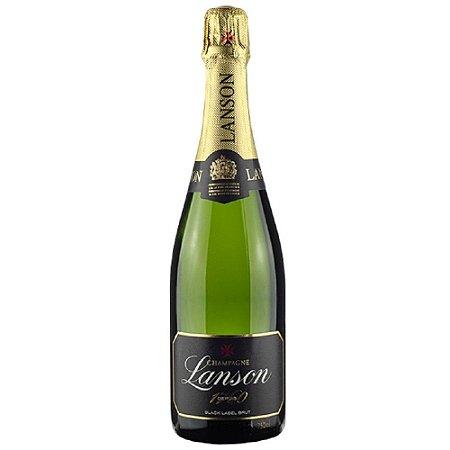 Champagne Lanson Black Label Brut Branco