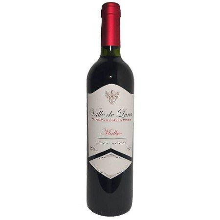 Vinho Valle de Luna Vineyard Selection Malbec