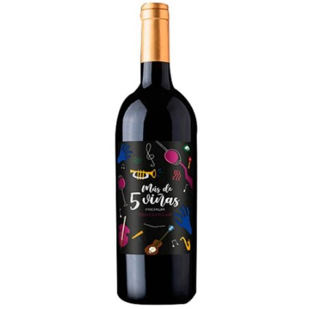 Vinho Más de 5 Viñas Premium Tempranillo