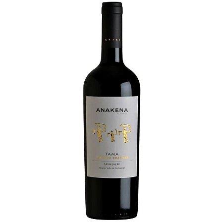 Vinho Anakena Tama Vineyard Selection Carménère